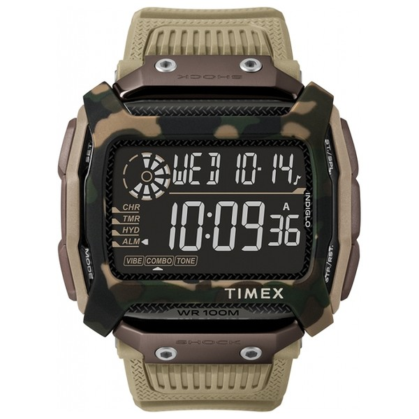 Часы Timex Expedition CAT Command Shock Tx5m20600 video