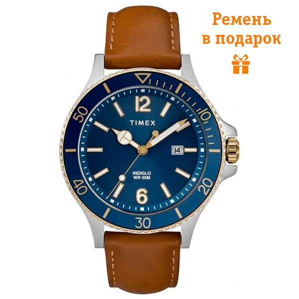Часы Timex Harborside Tx2r64500 video